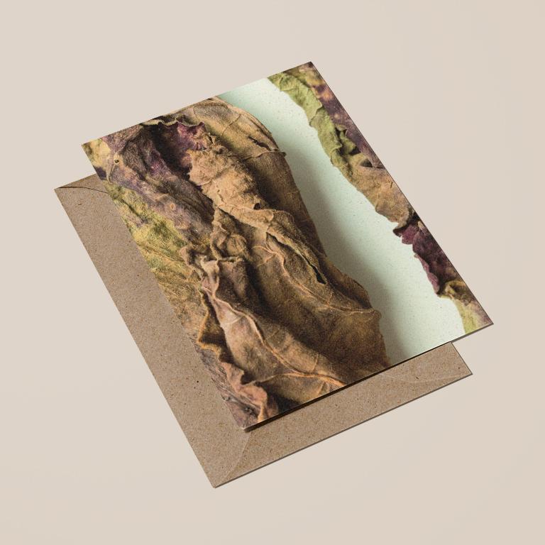 voorkant kaart met envelop