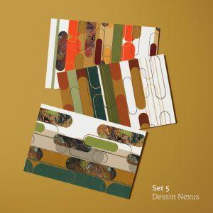 Dessin Nexus: ansichtkaarten voorkant
