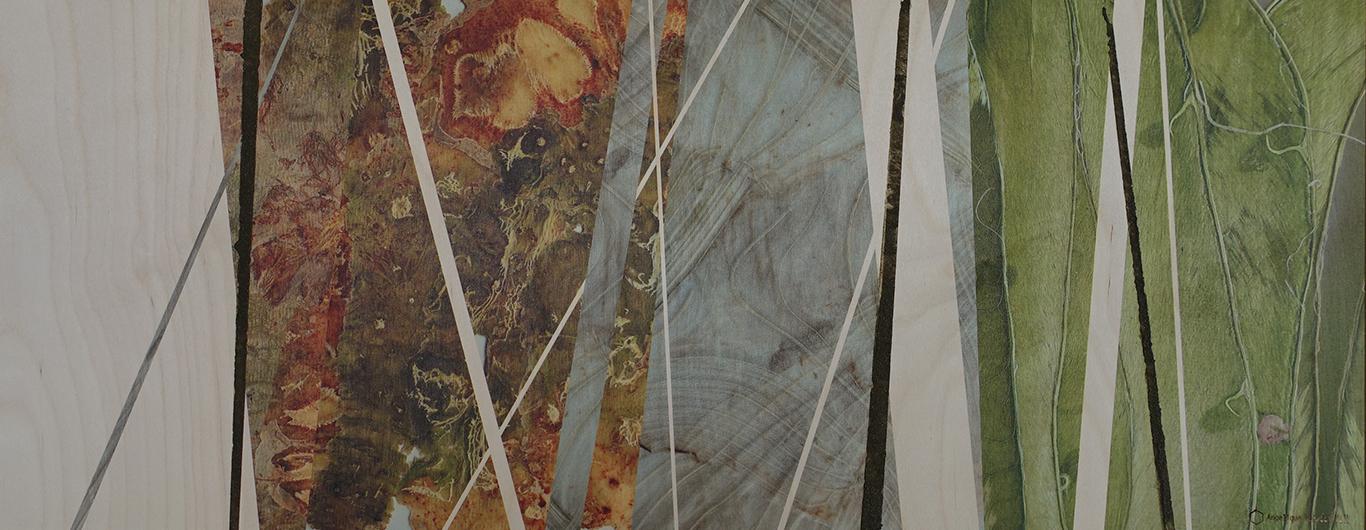 Organisch en abstract #2